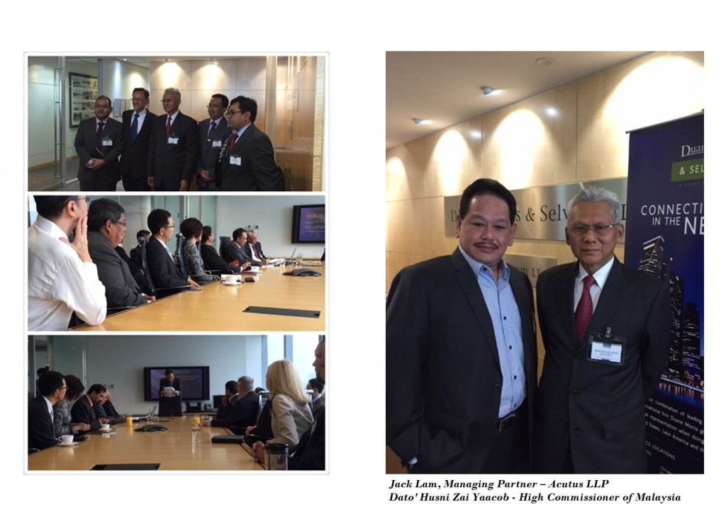 Duane Morris & Selvam Ambassador Series Program - Malaysia New Opportunities for the Asian Investor